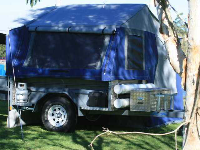 Customised camper trailer tent - Image #7