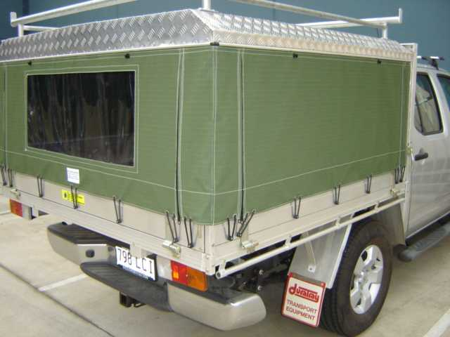 Ute canopy #1 made in Caboolture by Not Just Canvas ... & 4WD and Ute canopies and tonneaus from Not Just Canvas - Caboolture