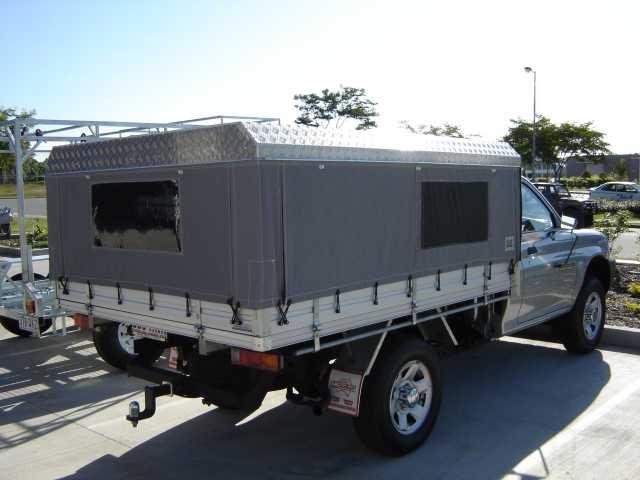 Ute canopy #3 from Not Just Canvas Trailer canopy & 4WD and Ute canopies and tonneaus from Not Just Canvas - Caboolture